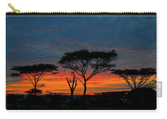 Serengeti Sunrise Carry-all Pouch