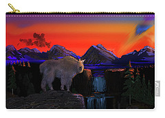 Serenity At Sunrise Carry-all Pouch by J Griff Griffin