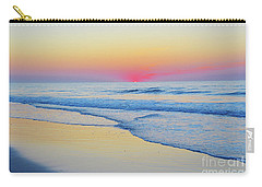 Serenity Beach Sunrise Carry-all Pouch