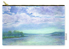 Serenity Blue Lake Carry-all Pouch