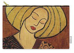 Carry-all Pouch featuring the mixed media Serenity by Gloria Rothrock