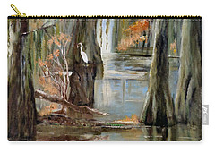 Serenity In The Swamp Carry-all Pouch