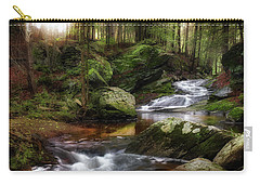 Carry-all Pouch featuring the photograph Serenity Sunrise by Bill Wakeley