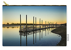 Serenity Sunset Kings Park New York Carry-all Pouch