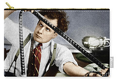 Carry-all Pouch featuring the photograph Sergei Eisenstein by Granger