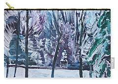 Sergey Rachmaninoff In Strastnoy Boulevard Carry-all Pouch