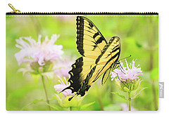 Series Of Yellow Swallowtail #4 Of 6 Carry-all Pouch by Joni Eskridge