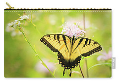 Series Of Yellow Swallowtail #6 Of 6 Carry-all Pouch