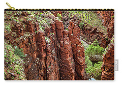 Carry-all Pouch featuring the photograph Serious Crags by T Brian Jones