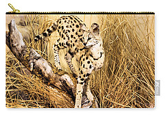 Serval Carry-all Pouch
