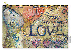 Serve Love Create Carry-all Pouch