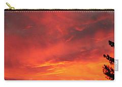 Desert Sunburst Carry-all Pouch