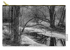 Carry-all Pouch featuring the photograph Set On Defrost by Kendall McKernon
