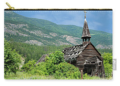 Carry-all Pouch featuring the photograph Seton Portage Church 2 by Rod Wiens