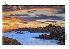 Setting Sun At Canal Rocks Carry-all Pouch
