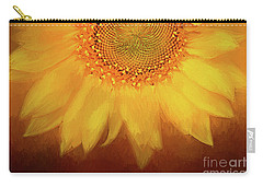 Carry-all Pouch featuring the photograph Setting Sun by Darren Fisher