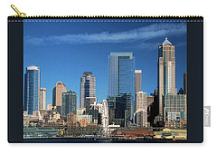 Seattle, Wa, Fine Art Print Carry-all Pouch by Greg Sigrist