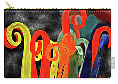 Seuss' Canes Carry-all Pouch by Trish Tritz