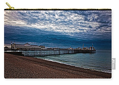 Seven Am On Brighton Seafront Carry-all Pouch