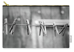 Seven Clothes Pins Carry-all Pouch by Marius Sipa