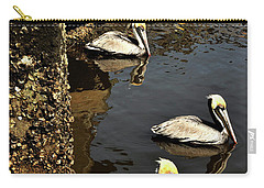 Seven Pelicans Carry-all Pouch