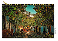 Seville Oranges Carry-all Pouch by Anton Kalinichev