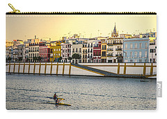 Seville - Sunset In Calle Betis Carry-all Pouch