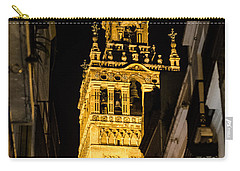 Seville - The Giralda At Night  Carry-all Pouch
