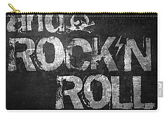 Sex Drugs And Rock N Roll Carry-all Pouch by Taylan Apukovska