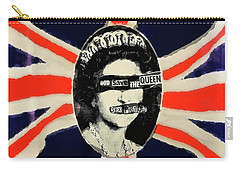 Clash City Rockers Mixed Media Carry-All Pouches