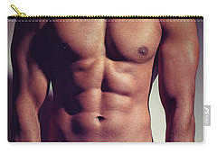 Sexy Male Muscular Body Carry-all Pouch
