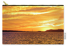 Sf Bay Area Sunset Carry-all Pouch