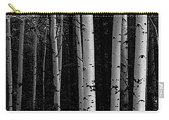 Carry-all Pouch featuring the photograph Shades Of A Forest by James BO Insogna