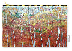 Carry-all Pouch featuring the painting Shades Of Autumn by Judi Goodwin