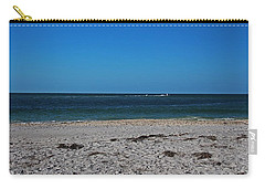 Carry-all Pouch featuring the photograph Shades Of Blue by Michiale Schneider