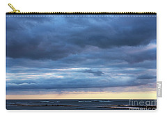 Carry-all Pouch featuring the photograph Shades Of Blue.. by Nina Stavlund