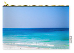 Shades Of Blue Carry-all Pouch by Shelby  Young