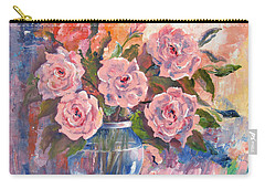 Shades Of Flowers Carry-all Pouch
