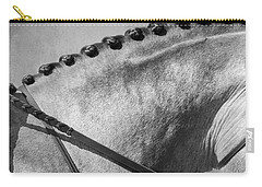 Shades Of Grey Fine Art Horse Photography Carry-all Pouch