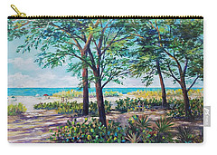 Shades Of Longboat Key Carry-all Pouch by Lou Ann Bagnall