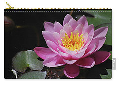 Carry-all Pouch featuring the photograph Shades Of Pink by Amee Cave