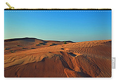 Shades Of Sand Carry-all Pouch by Corinne Rhode