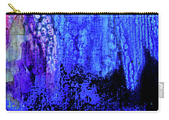 Shadow Abstract Bloom Carry-all Pouch
