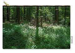 Shadow And Light In A Forest Carry-all Pouch
