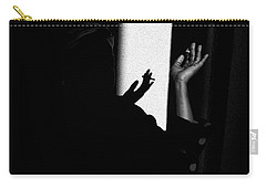 Carry-all Pouch featuring the photograph Shadow And Polka Dots by Hugh Smith