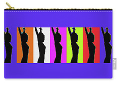 Shadow Dancers In A Row Carry-all Pouch