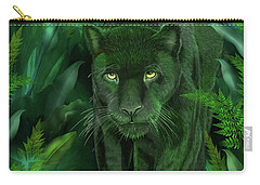 Shadow Of The Panther Carry-all Pouch by Carol Cavalaris