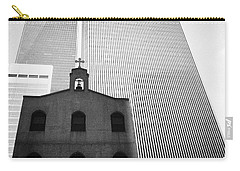 Shadow Of World Trade Center Carry-all Pouch
