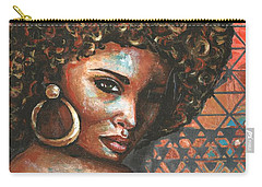 Carry-all Pouch featuring the painting Shadows by Alga Washington