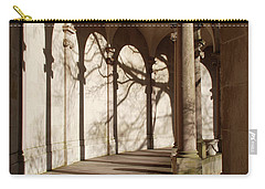 Carry-all Pouch featuring the photograph Shadows And Curves by Richard Bryce and Family